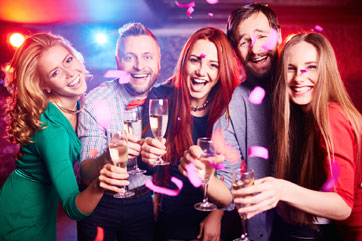 Company Parties and Team Building Events at Valley Center Bowl