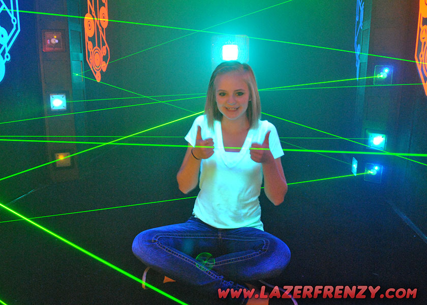 Lazer Frenzy at Valley Center Bowl