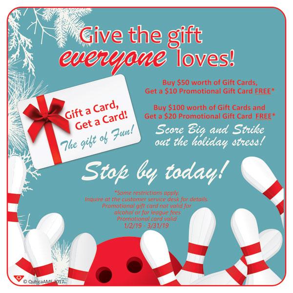 Holiday Gift Card Special Salinas, CA
